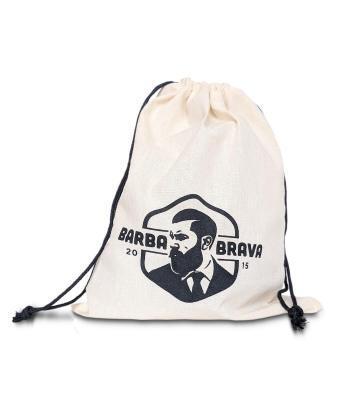 saco de algodão para presente produtos para barba barba brava