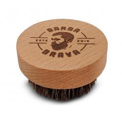 escova para barba com cerdas de javali